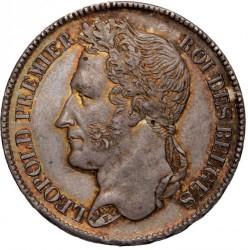 Moneta > 2franchi, 1834-1844 - Belgio  - obverse