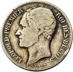 Moneta > 1frank, 1849-1850 - Belgia  - obverse