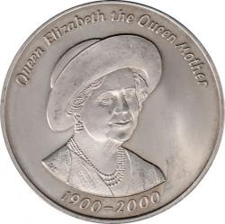 Moneta > 50pensów, 2000 - Tristan da Cunha  (100 rocznica urodzin - Królowa Matka) - reverse