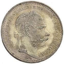 Монета > 20крейцеров, 1868-1869 - Венгрия  - obverse
