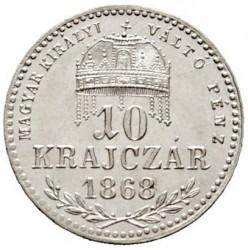 Münze > 10Kreuzer, 1868-1869 - Ungarn  - reverse