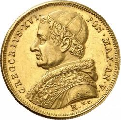 Монета > 10скудо, 1835-1845 - Папская область  - obverse