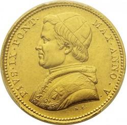 Монета > 10скудо, 1850-1856 - Папская область  - obverse