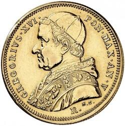 Монета > 5скудо, 1835-1846 - Папская область  - obverse