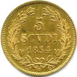 Монета > 5скудо, 1846-1854 - Папская область  - reverse