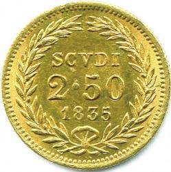 Монета > 2.5скудо, 1835-1846 - Папская область  - reverse