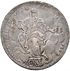 Moneta > 1scudo, 1802-1807 - Państwo Kościelne  - reverse