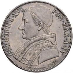Монета > 1скудо, 1831-1834 - Папська область  - obverse