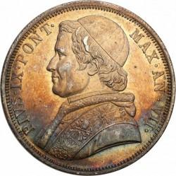 Монета > 1скудо, 1846-1854 - Папська область  - obverse