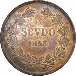 Монета > 1скудо, 1846-1854 - Папська область  - reverse