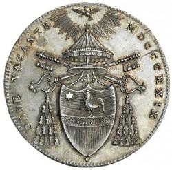 Монета > ½скудо, 1829 - Папська область  - obverse