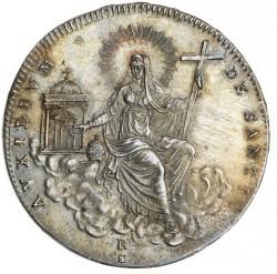 Монета > ½скудо, 1829 - Папська область  - reverse