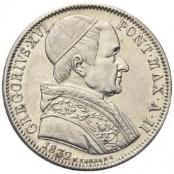 Монета > 50байокко, 1832-1834 - Папська область  - obverse