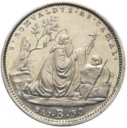 Монета > 50байокко, 1832-1834 - Папська область  - reverse