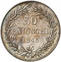 Монета > 50байокко, 1835-1846 - Папська область  - reverse