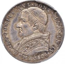 Монета > 30байокко, 1834 - Папская область  - obverse