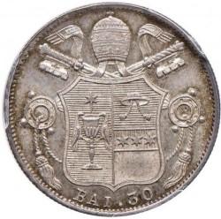 Монета > 30байокко, 1834 - Папская область  - reverse