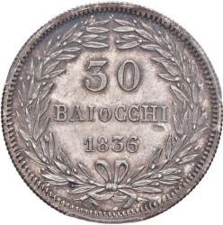 Монета > 30байокко, 1836-1846 - Папська область  - reverse