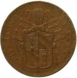 Монета > 5байокко, 1850-1854 - Папська область  - obverse