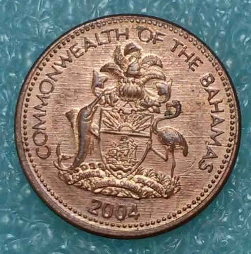 1 cent 1985-2004, Bahamas - Coin value - uCoin net