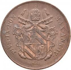 Монета > 2байокко, 1848-1849 - Папська область  - obverse