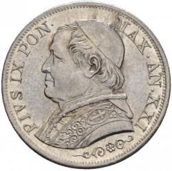 Moneda > 1lira, 1866-1868 - Estados Pontificios  - obverse
