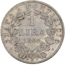 Moneda > 1lira, 1866-1868 - Estados Pontificios  - reverse