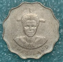 Moneta > 5centów, 1986 - Suazi  - obverse