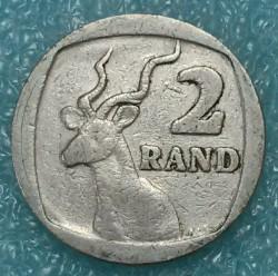 Moneta > 2rand, 1989-1995 - Sudafrica  - obverse