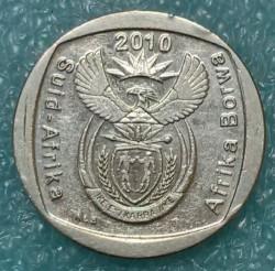 Moeda > 2rand, 2010-2012 - África do Sul  - reverse