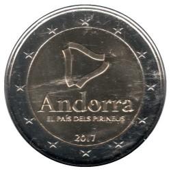 Moneda > 2euros, 2017 - Andorra  (Andorra - El País Pirenaico) - obverse