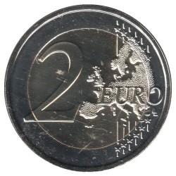 Moneda > 2euros, 2017 - Andorra  (100º Aniversario - Himno de Andorra) - obverse