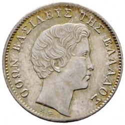 Monēta > ½drachma, 1833-1847 - Grieķija  - obverse