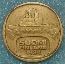 Монета > 5марок, 1979-1993 - Финляндия  - obverse