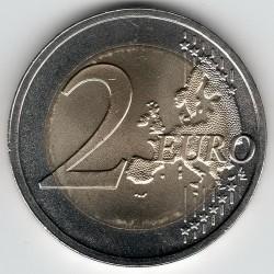 Монета > 2євро, 2018 - Латвія  (100-та річниця - Держави Балтики) - obverse