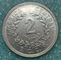 Moneta > 2kolonai, 1982-1983 - Kosta Rika  - reverse