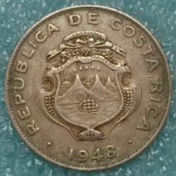 Кованица > 25центи, 1937-1948 - Костарика  - obverse