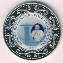 Moneta > 1dollaro, 2005 - Somalia  (Papa Benedetto XVI) - reverse