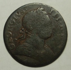 Moneda > 1farthing, 1771-1775 - Reino Unido  - reverse