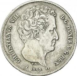 Moneda > 32rigsbankskilling, 1842-1843 - Dinamarca  - obverse