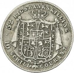 Moneda > 32rigsbankskilling, 1842-1843 - Dinamarca  - reverse