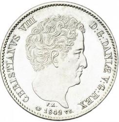 Кованица > 16ригсбанкскилинга, 1842-1844 - Данска  - obverse