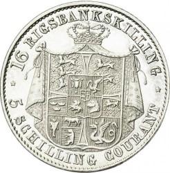 Кованица > 16ригсбанкскилинга, 1842-1844 - Данска  - reverse
