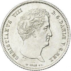 Moneta > 1rigsbankdaleris, 1842-1848 - Danija  - obverse