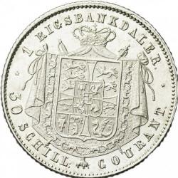 Moneta > 1rigsbankdaleris, 1842-1848 - Danija  - reverse