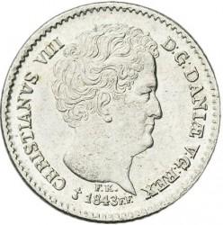 Moneta > 8rigsbankskilingai, 1843 - Danija  - obverse