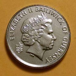 Coin > 5pence, 2012 - Guernsey  - obverse