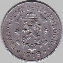 Монета > 10сантима, 1918-1923 - Люксембург  - obverse