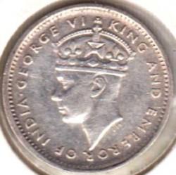 Coin > 10cents, 1941 - Ceylon  - obverse