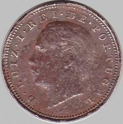 Монета > 5рейса, 1882-1886 - Португалия  - obverse